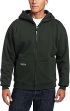 Load image into Gallery viewer, Men's Arborwear Double Thick Full Zip Sweatshirt in Forest Green