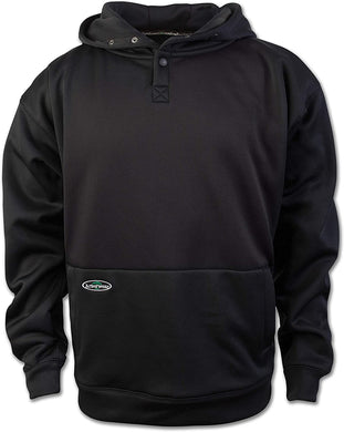 Men's Arborwear Tech Double Thick Pullover in Black