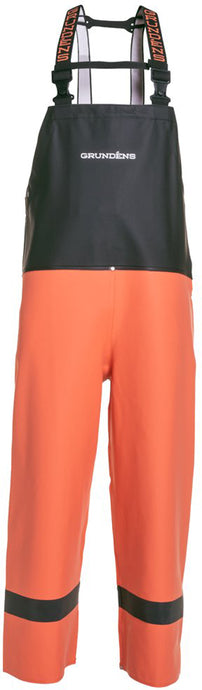 Balder Bib 504 in Orange color from the front view