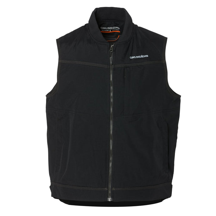 Ballast Insulated Vest in Black from the front
