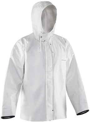 Brigg 44 Jacket in White color from the front view