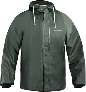 Brigg 44 Tall Jacket in Green color from the front view