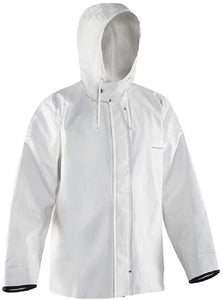 Brigg 44 Tall Jacket in White color from the front view