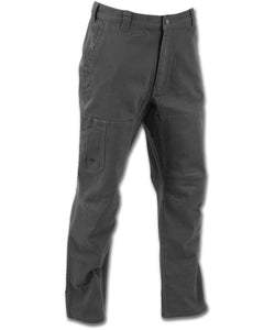 Cedar Flex Pant in Coal color from the front view