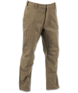Cedar Flex Pant in Driftwood color from the front view
