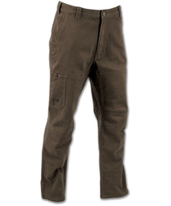 Cedar Flex Pants in Chestnut color from the front view