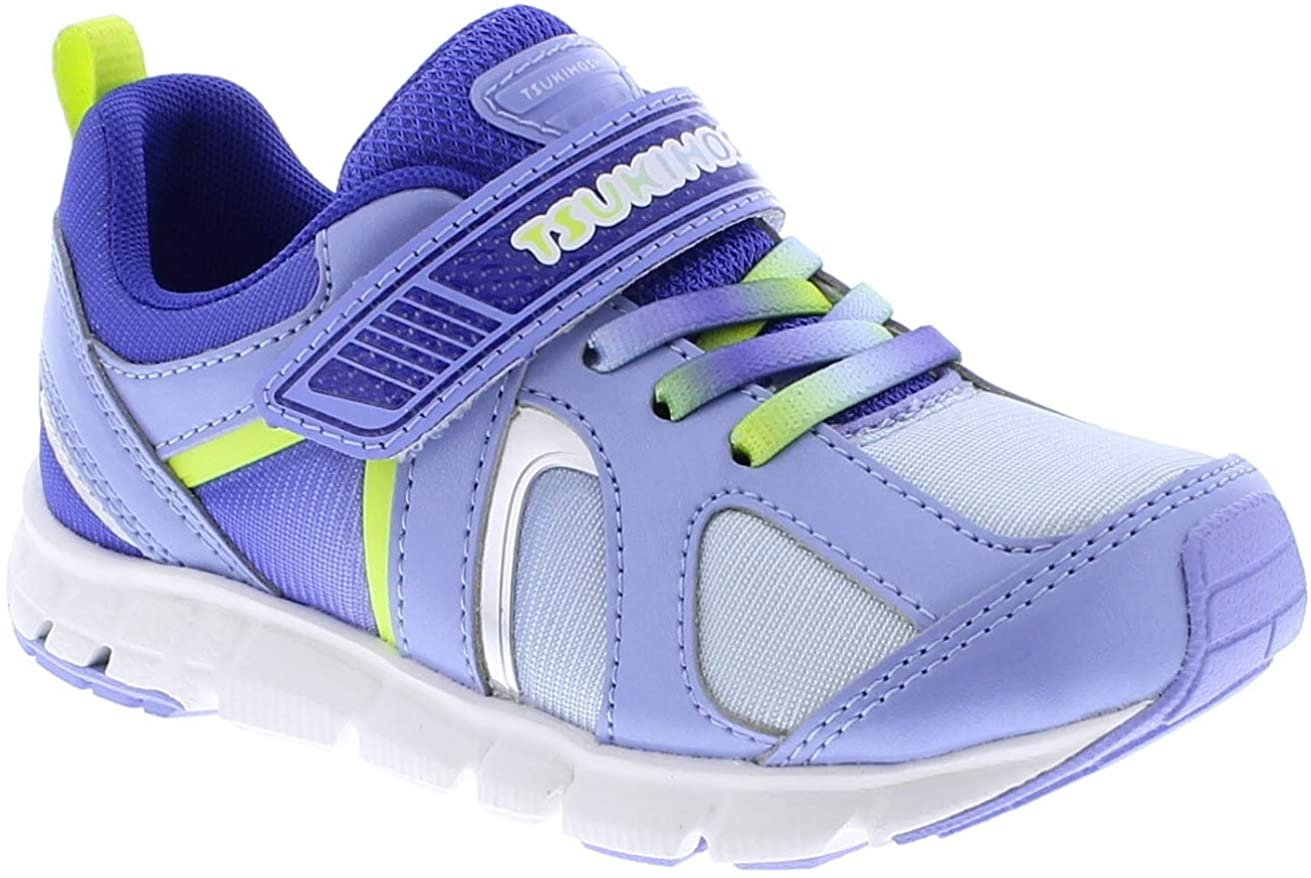 Child Tsukihoshi Rainbow Sneaker in Lilac/Lime