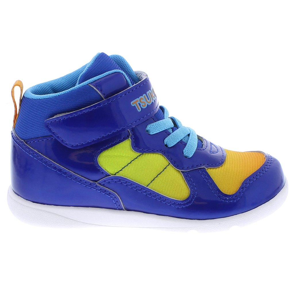 Child Tsukihoshi Jam-Mid Sneaker in Royal/Blue