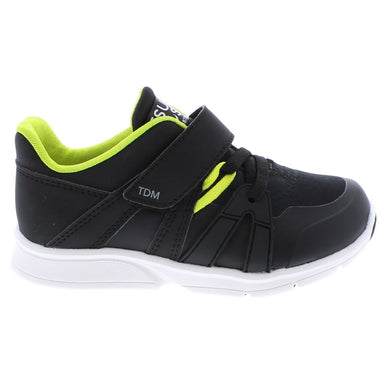 Child Tsukihoshi Launch Sneaker in Black/Lime