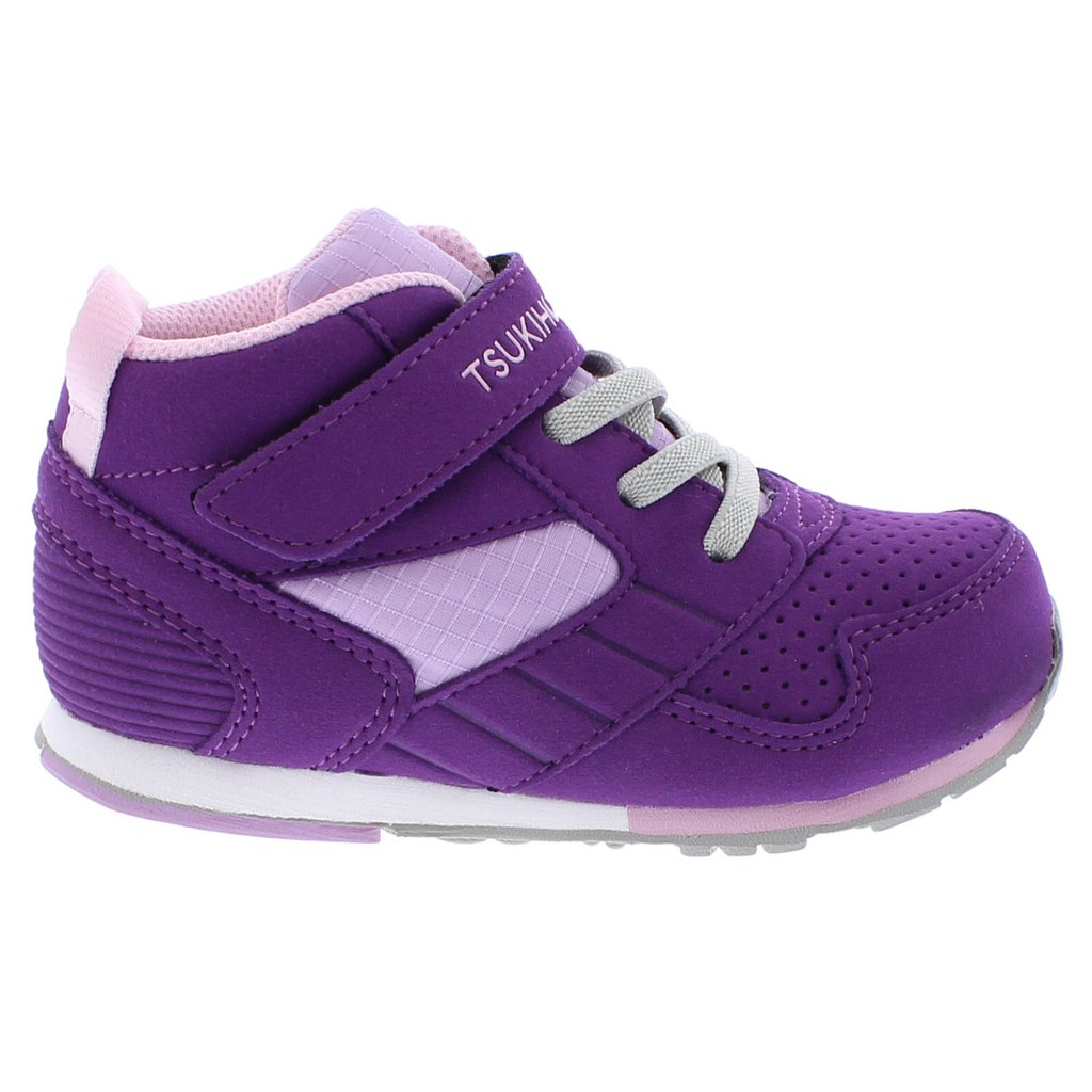 Child Tsukihoshi Racer-Mid Sneaker in Purple/Pink