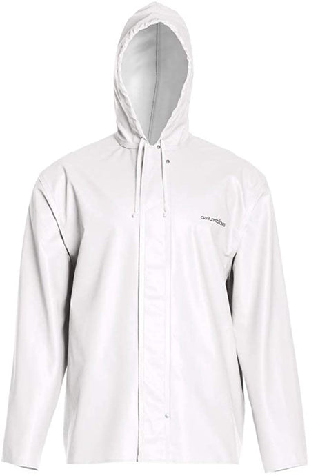 Clipper 82 Jacket in White color from the front view