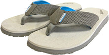 Load image into Gallery viewer, Deck Hand Sandal in Glacier Grey color from the side view