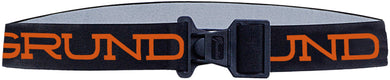 Elastic Tool Belt in Black color from the front view