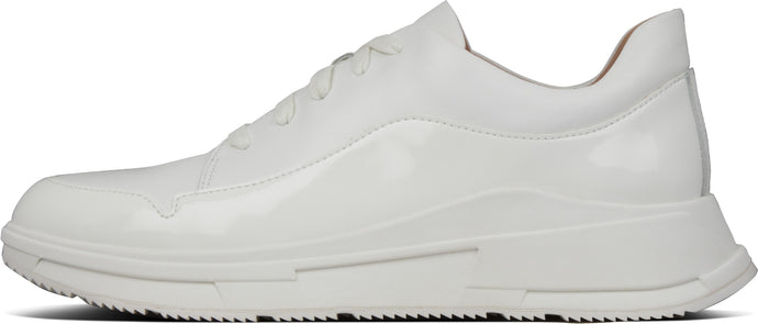 Freya Sneakers in Urban White from the side