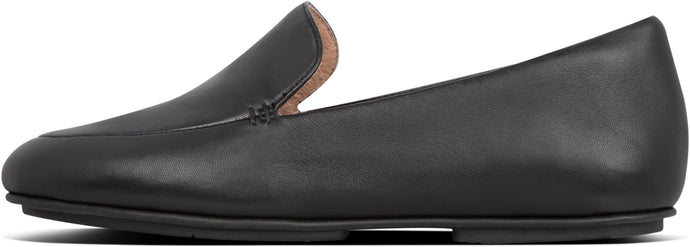 Lena Loafers in All Black from the side