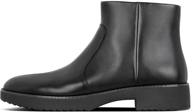 Maria Ankle Boots in All Black from the side