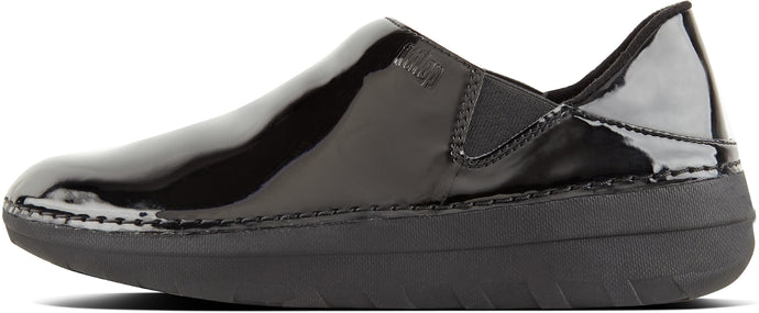 Superloafer -Patent in Black from the side