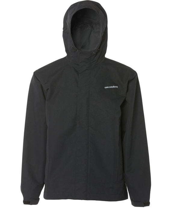 Full Share Jacket in Black color from the front view