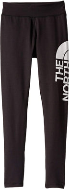 Girl's The North Face Metro Logo Legging in TNF Black
