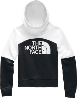 Girl's The North Face Metro Logo Pullover Hoodie in TNF Black