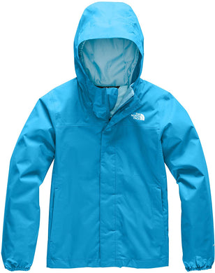 Girl's The North Face Resolve Reflective Jacket in Acoustic Blue