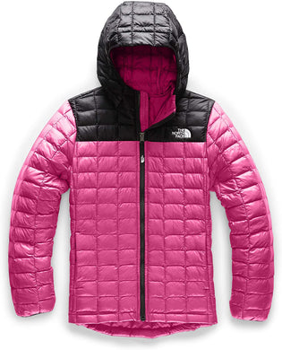 Girl's The North Face Thermoball Eco Hoodie Hoodie in Mr. Pink
