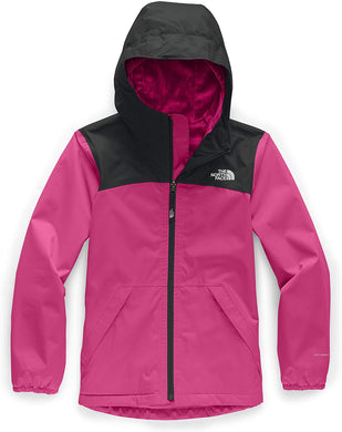 Girl's The North Face Warm Storm Jacket Jacket in Mr. Pink
