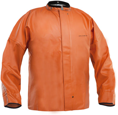 Brigg 411 Jacket With Neoprene Cuff in Orange color