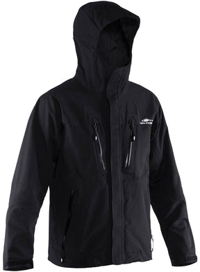 Burning Daylight Hooded Jacket in Black color