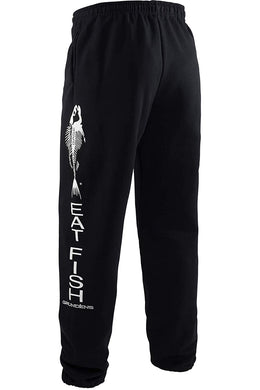 Eat Fish Sweatpant in Black color