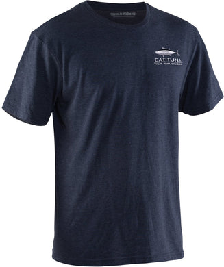 Eat Tuna T-Shirt in Navy color