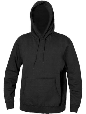 Heavy Duty Hooded Sweatshirt 11 in Black color