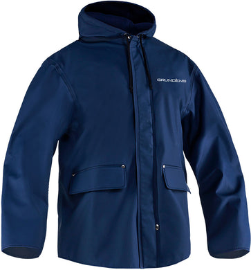 Sund Fleece Lined Jacker 87 in Navy color