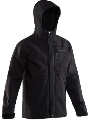 Weather-Boss Hooded Parka in Black color