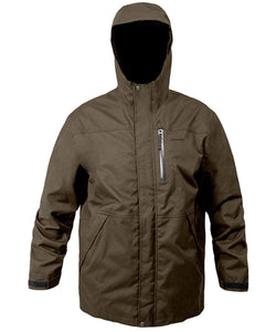 Weather-Boss Hooded Parka in Brown color