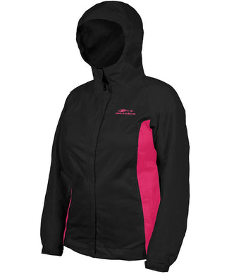 Women'S Weather Watch Jacket in Black/Pink color