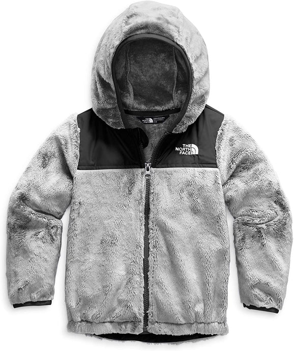 Infant The North Face Oso Hoodie in Meld Grey from the front