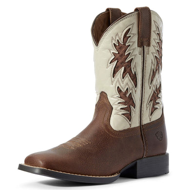 Kids' Ariat Cowboy VentTEK Western Boot in Cognac Candy