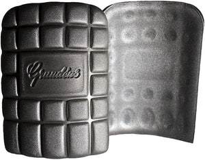 Knee Pad in Grey color from the front view