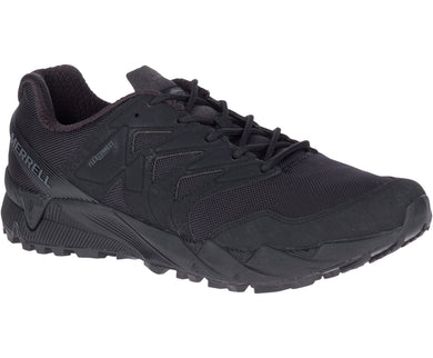 Men's Agility Peak Tactical Shoe in Black from the front view
