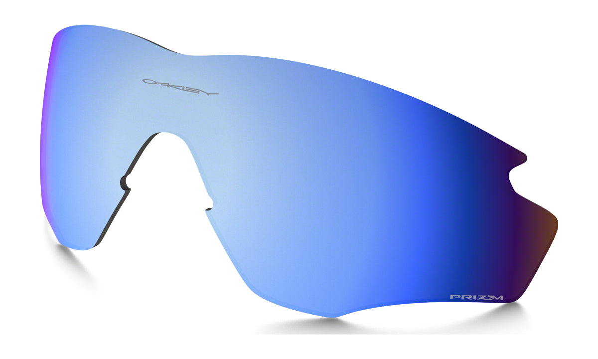 Men's Oakley M2 Frame XL Replacement Lens in Prizm Deep Water Polarized from the front view