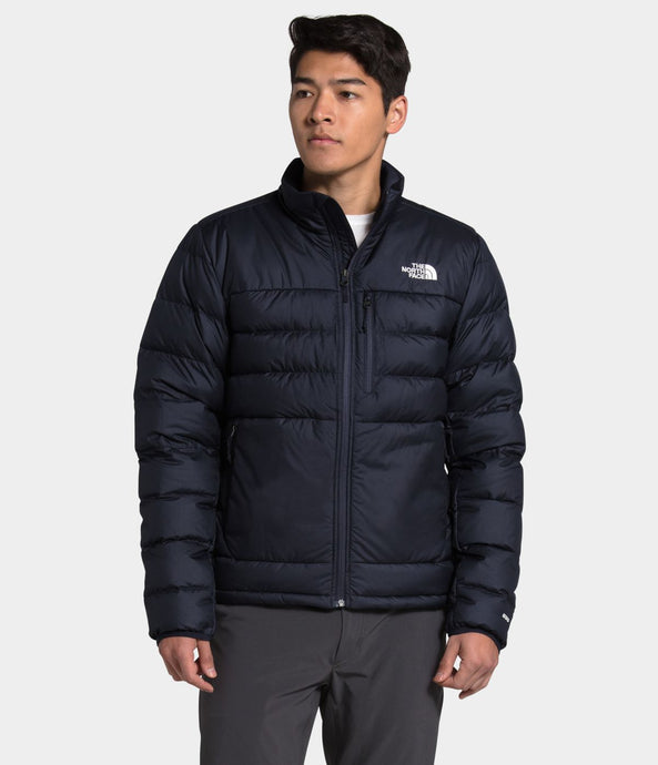 Men's The North Face Aconcagua 2 Jacket in Aviator Navy from the front