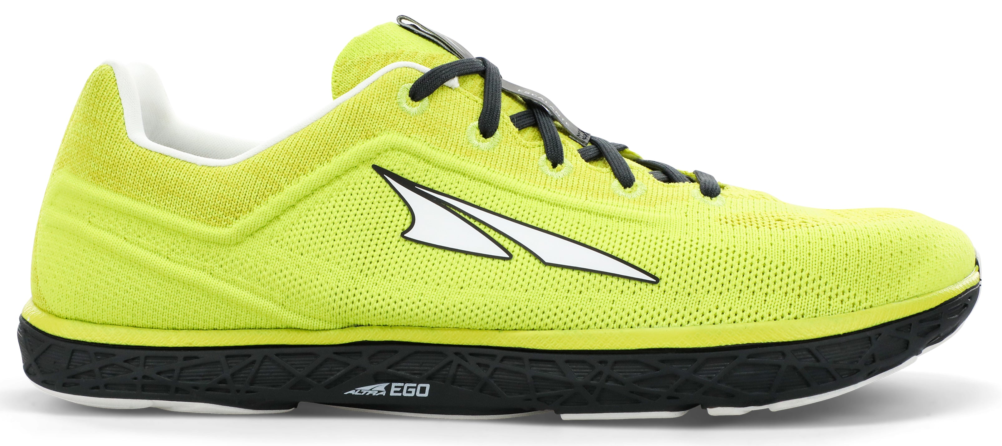 Altra Men's Escalante 2.5 Road Running Shoe in Lime/Black from the side