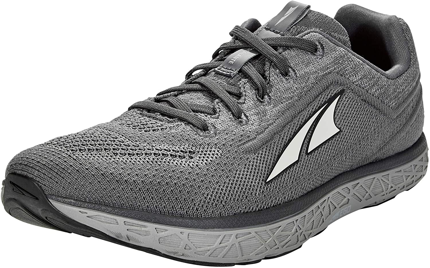 Altra Men's Escalante 2.5 Road Running Shoe in Gray from the side
