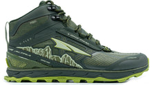 Load image into Gallery viewer, Altra Men's Lone Peak 4 Mid RSM Trail Running Shoe in Deep Forest from the side