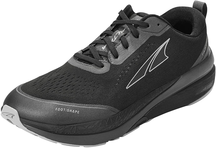 Altra Men's Paradigm 5 Road Running Shoe in Black from the side