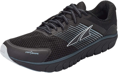 Altra Men's Provision 4 Road Running Shoe in Black from the side