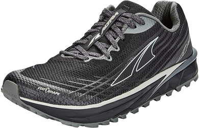Altra Men's TIMP 2 Trail Running Shoe in Black from the side