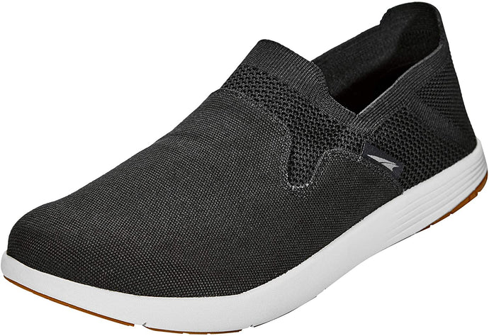 Altra Men's Tokala 2 Slip-On Shoe in Black/Beige from the side