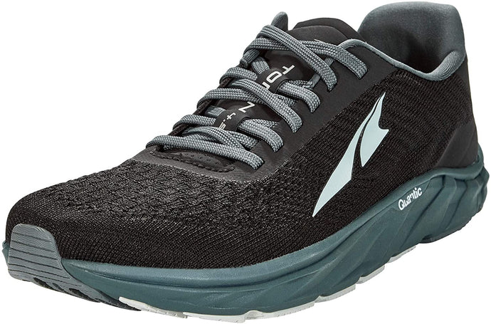 Altra Men's Torin 4.5 Plush Road Running Shoe in Black Steel from the side